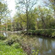 rivière à proximité gite Pays Cathare Gites de France dans l'Aude à Moussoulens en Carcassonnais