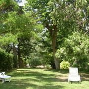 jardin gite Pays Cathare Gites de France dans l'Aude à Narbonne