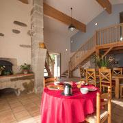 Gites Pays Cathare loubatous à Castelnaudary avec ancien four à pain
