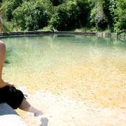 baignade naturelle à probimité gite dans l'Aude label pays cathare gites de france à Quintillan
