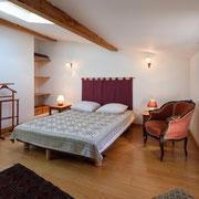 chambre 2 gite Pays Cathare Gites de France dans l'Aude à Fraissé des Corbières, Aude