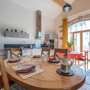 Gites Pays Cathare loubatous à Castelnaudary séjour cuisine