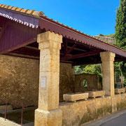 Gites de France Aude Pays cathare Le lavoir à Ferrals les corbières