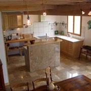 cuisine gite Gites de France à Bouriège dans l'Aude