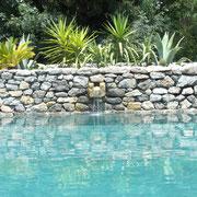 piscine gite Pays Cathare Gites de France dans l'Aude à Narbonne à proximité de la mer