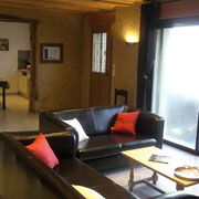 salon gite dans l'Aude pays cathare gites de france à Véraza avec piscine