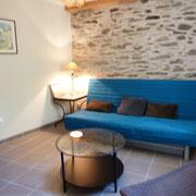 salon gite Pays Cathare Gites de France dans l'Aude à Castan en Montagne noire
