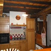 cuisine du gite Pays Cathare Gites de France dans l'Aude aux Brunels