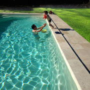 piscine gite Pays Cathare Gites de France dans l'Aude  à Fabrezan en Corbières