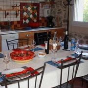 séjour gite pays cathare dans l'Aude à Pouzols minervois avec piscine