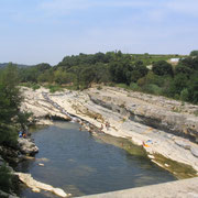 baignade naturelle à proximité gite pays cathare et gites de france dans l'Aude à Ribaute en Corbières