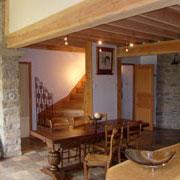 salle à manger gite Gites de France à Bouriège dans l'Aude