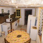 cuisine gite Pays Cathare Gites de France dans l'Aude à Moussoulens en Carcassonnais
