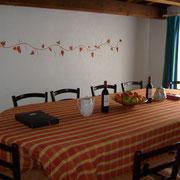 terrasse couverte gite Pays Cathare Gites de France dans l'Aude à Cascastel en corbières