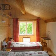 chambre 2 du gite Pays Cathare Gites de France dans l'Aude aux Brunels