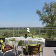 terrase vue sur le vignoble au gite aude pays cathare Gites de France à Raissac d'Aude