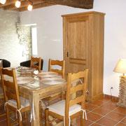 salle à manger gite gite Pays Cathare Gites de France dans l'Aude à Caunette sur Lauquet