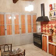 cuisine gite Pays Cathare Gites de France dans l'Aude à Narbonne à proximité de la mer