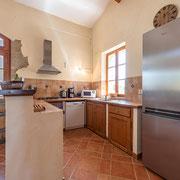 Cuisine gite Le Moulin au Domaine de Saint Jacques d'Albas à Laure Minervois dans l'Aude