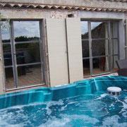 SPA gite Pays Cathare Gites de France dans l'Aude à Castelnau d'Aude