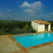 piscine gite Pays Cathare Gites de France dans l'Aude