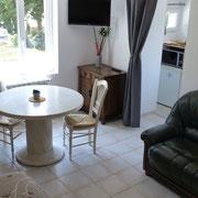 séjour salon Gite Pays cathare le paratge à Carcassonne