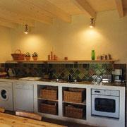 cuisine Gite Pays Cathare Gites de France dans l'Aude à Montlaur en Carcassonnais