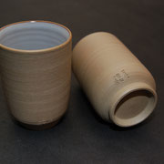 """yunomi"" tea cups - ¥2160 each / ¥3888 the set of two"