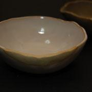 """katakuchi"" bowl - white - ¥1512"