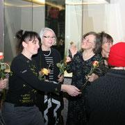 Inka Engmann, Antje Püpke, Elvira Mewes, Melany Reynolds, Ingrid Engmann (v.l.n.r.)