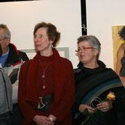 Ingeborg Teetz, Andrea Sroke, Annette Weiske (v.l.n.r.)