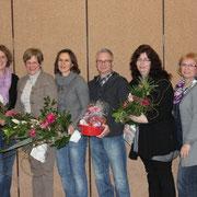 Verabschiedung langjähriger Ausschussmitglieder und Übungsleiter