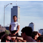 Under Construction Before Destruction, Gay Pride Parade, New York City 1986