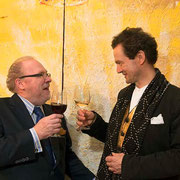 Rudolph Leitner-Gruendberg & Richard Massey, Richard Massey LLC, Gallery, Opening Reception, New York City, 2014