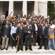 Living Percussionists, Max Roach Funeral, Grant's Tomb, New York City 2007