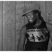 Black Uhuru Musician, Backstage, Atlanta 1982
