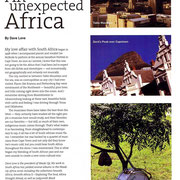 South Africa Jazz, Music, Travel Spread, Jazziz, May 2004