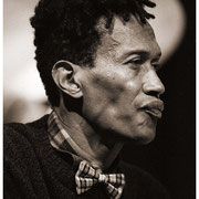 """""""In the Light and Out of the Rain"""", Don Cherry (1936-1995), Blackwell Project, Riverside Church, NYC 1990"""