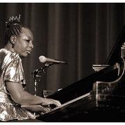 """""""Before Her Last"""", Nina Simone (1933-2003), Hunter College, New York City 1985"""
