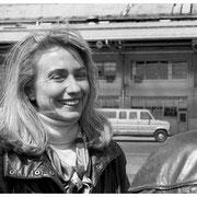 Hillary Clinton, Tarmac, Tetersboro, NJ 1992