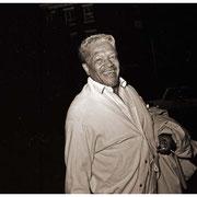 Illinois Jacquet, Outside Village Vanguard, New York City 1998