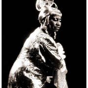Celia Cruz (1924-2003), Fania All Star, Madison Square Garden, New York City 1984