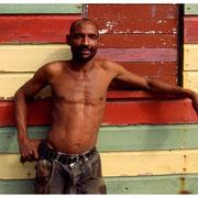 Jamaican Man, Nutsy, Negril, Jamaica 2003