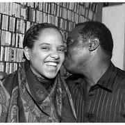 Terri Lynne Carrington and Andrew Cyrille, Ed Blackwell Tribute, Knitting Factory, NYC 1990