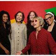 Tomeka Reed, Patricia Willard, Claire Daly, Jane Ira Bloom, Nicole Mitchell, Jazz Journalists Award Winners, New School, NYC 2018