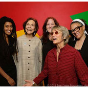 Tomeka Reed, Patricia Willard, Claire Daly, Jane Ira Bloom, Nicole Mitchell, Jazz Journalists Award Winners, New School, NYC 2018