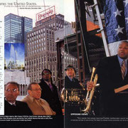 Wynton Marsalis, JALC Groundbreaking Ceremony,  (Also Bill Clinton, Vanessa Williams), Jazziz