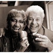"""Dos Apples of our Eyes"", Celia Cruz (1994-2003) & Tito Puente (1923-2000), Blue Note, NYC 1993"