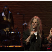 Patti Smith and Steve Jordan, Great Night in Harlem, Apollo Theater, NYC 2019