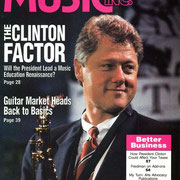 Bill Clinton, Music Inc., April 1993